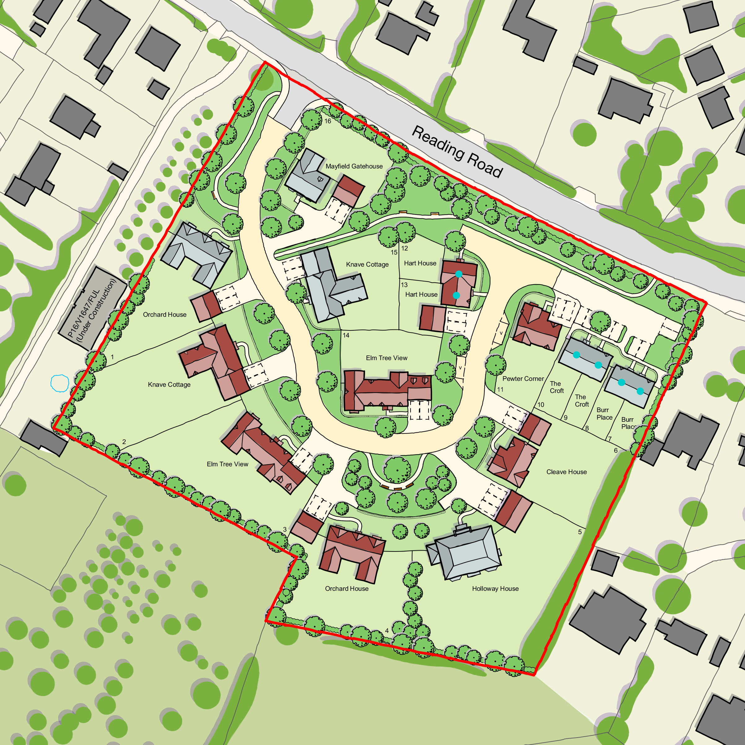 Ede Homes, Harwell, West Waddy, Architects, Town Planners, Urban Designers