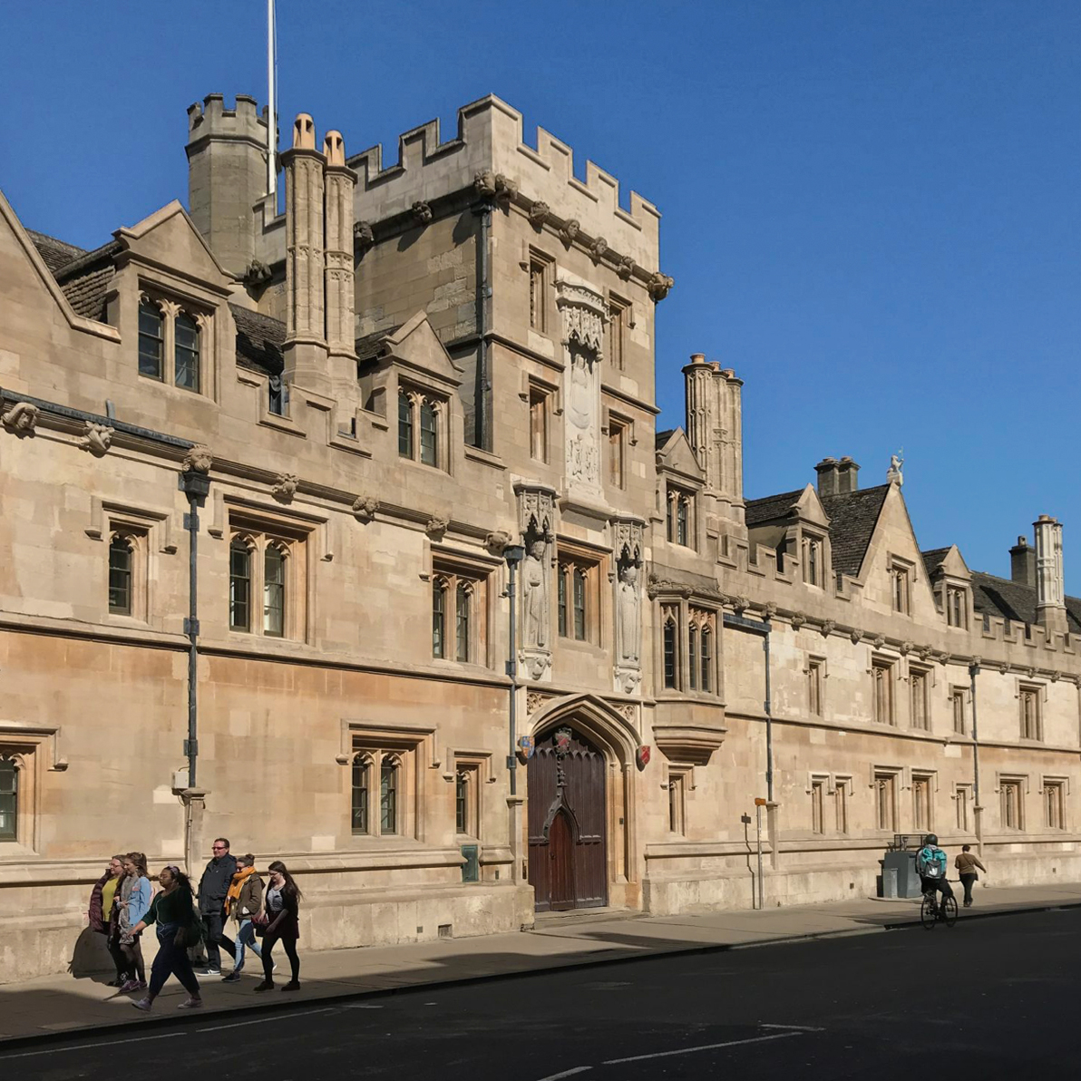 All Souls College, Oxford, West Waddy, Architects, Town Planners, Urban Designers